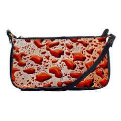 Water Drops Background Shoulder Clutch Bags