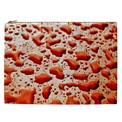 Water Drops Background Cosmetic Bag (xxl)
