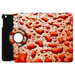 Water Drops Background Apple iPad Mini Flip 360 Case