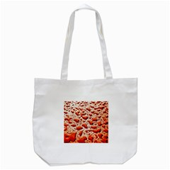 Water Drops Background Tote Bag (White)