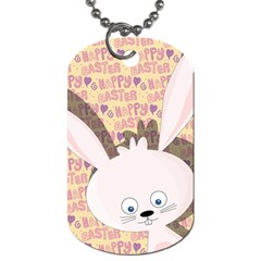 Easter bunny  Dog Tag (Two Sides)