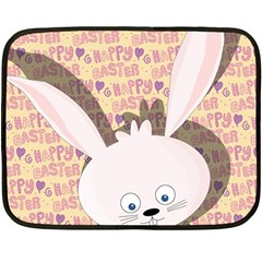 Easter bunny  Fleece Blanket (Mini)