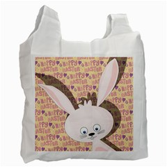 Easter bunny  Recycle Bag (One Side)
