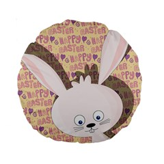 Easter bunny  Standard 15  Premium Round Cushions