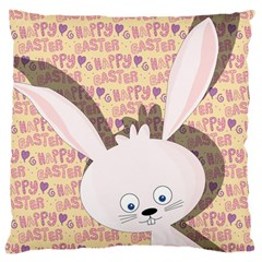 Easter bunny  Standard Flano Cushion Case (Two Sides)