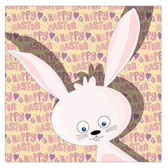 Easter bunny  Large Satin Scarf (Square)