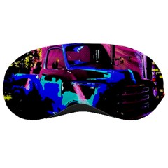 Abstract Artwork Of A Old Truck Sleeping Masks