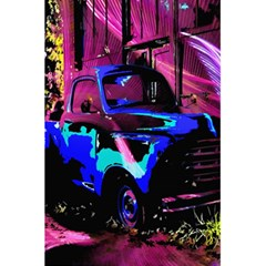 Abstract Artwork Of A Old Truck 5.5  x 8.5  Notebooks