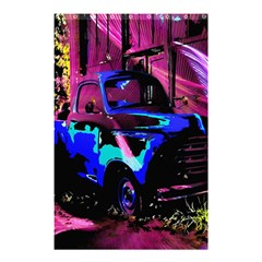 Abstract Artwork Of A Old Truck Shower Curtain 48  x 72  (Small)