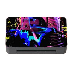 Abstract Artwork Of A Old Truck Memory Card Reader with CF