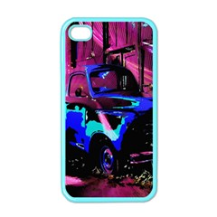 Abstract Artwork Of A Old Truck Apple iPhone 4 Case (Color)