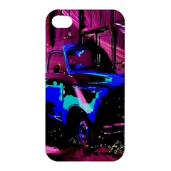 Abstract Artwork Of A Old Truck Apple iPhone 4/4S Hardshell Case