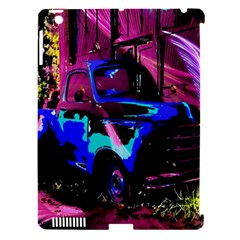 Abstract Artwork Of A Old Truck Apple Ipad 3/4 Hardshell Case (compatible With Smart Cover)