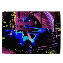 Abstract Artwork Of A Old Truck Cosmetic Bag (xxl)