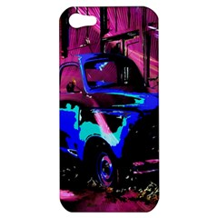 Abstract Artwork Of A Old Truck Apple iPhone 5 Hardshell Case