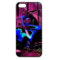Abstract Artwork Of A Old Truck Apple Iphone 5 Seamless Case (black)