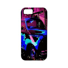 Abstract Artwork Of A Old Truck Apple iPhone 5 Classic Hardshell Case (PC+Silicone)