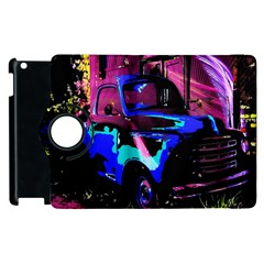 Abstract Artwork Of A Old Truck Apple Ipad 3/4 Flip 360 Case