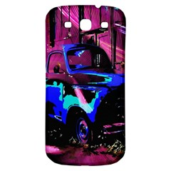 Abstract Artwork Of A Old Truck Samsung Galaxy S3 S III Classic Hardshell Back Case