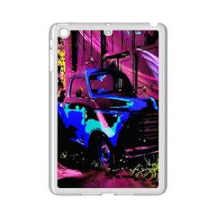 Abstract Artwork Of A Old Truck Ipad Mini 2 Enamel Coated Cases