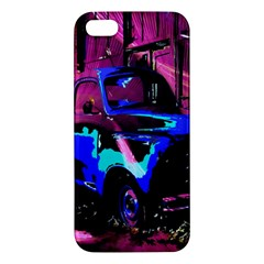 Abstract Artwork Of A Old Truck Apple Iphone 5 Premium Hardshell Case