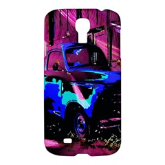 Abstract Artwork Of A Old Truck Samsung Galaxy S4 I9500/i9505 Hardshell Case
