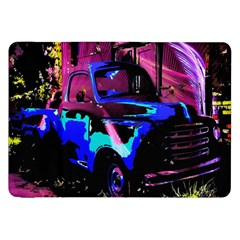 Abstract Artwork Of A Old Truck Samsung Galaxy Tab 8.9  P7300 Flip Case