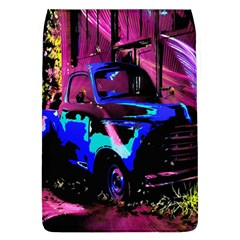 Abstract Artwork Of A Old Truck Flap Covers (L)