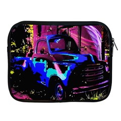 Abstract Artwork Of A Old Truck Apple Ipad 2/3/4 Zipper Cases