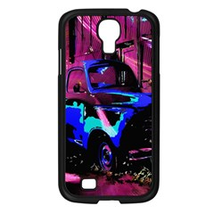 Abstract Artwork Of A Old Truck Samsung Galaxy S4 I9500/ I9505 Case (Black)