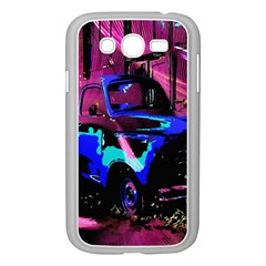 Abstract Artwork Of A Old Truck Samsung Galaxy Grand Duos I9082 Case (white)