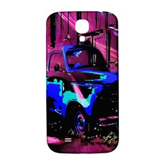 Abstract Artwork Of A Old Truck Samsung Galaxy S4 I9500/i9505  Hardshell Back Case