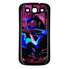 Abstract Artwork Of A Old Truck Samsung Galaxy S3 Back Case (Black)
