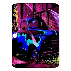 Abstract Artwork Of A Old Truck Samsung Galaxy Tab 3 (10 1 ) P5200 Hardshell Case