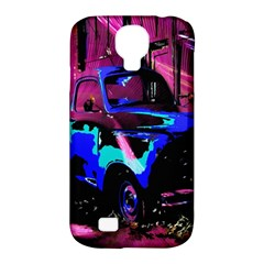 Abstract Artwork Of A Old Truck Samsung Galaxy S4 Classic Hardshell Case (pc+silicone)