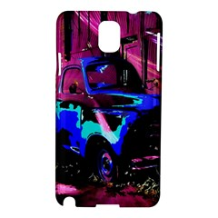 Abstract Artwork Of A Old Truck Samsung Galaxy Note 3 N9005 Hardshell Case