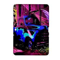 Abstract Artwork Of A Old Truck Samsung Galaxy Tab 2 (10.1 ) P5100 Hardshell Case
