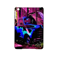 Abstract Artwork Of A Old Truck Ipad Mini 2 Hardshell Cases