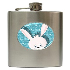 Easter bunny  Hip Flask (6 oz)