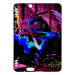 Abstract Artwork Of A Old Truck Kindle Fire Hdx Hardshell Case