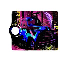 Abstract Artwork Of A Old Truck Kindle Fire Hdx 8 9  Flip 360 Case