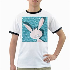 Easter bunny  Ringer T-Shirts