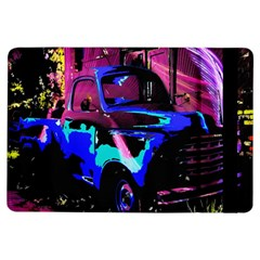 Abstract Artwork Of A Old Truck iPad Air Flip