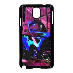 Abstract Artwork Of A Old Truck Samsung Galaxy Note 3 Neo Hardshell Case (black)