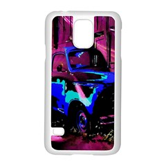 Abstract Artwork Of A Old Truck Samsung Galaxy S5 Case (White)
