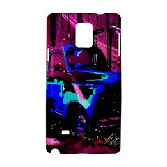 Abstract Artwork Of A Old Truck Samsung Galaxy Note 4 Hardshell Case