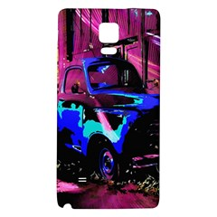 Abstract Artwork Of A Old Truck Galaxy Note 4 Back Case