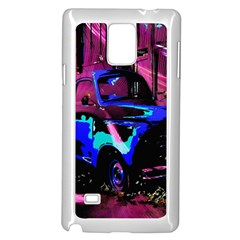 Abstract Artwork Of A Old Truck Samsung Galaxy Note 4 Case (white)