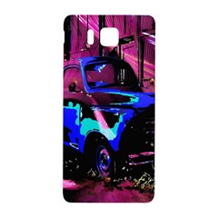 Abstract Artwork Of A Old Truck Samsung Galaxy Alpha Hardshell Back Case