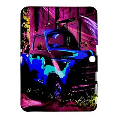 Abstract Artwork Of A Old Truck Samsung Galaxy Tab 4 (10.1 ) Hardshell Case